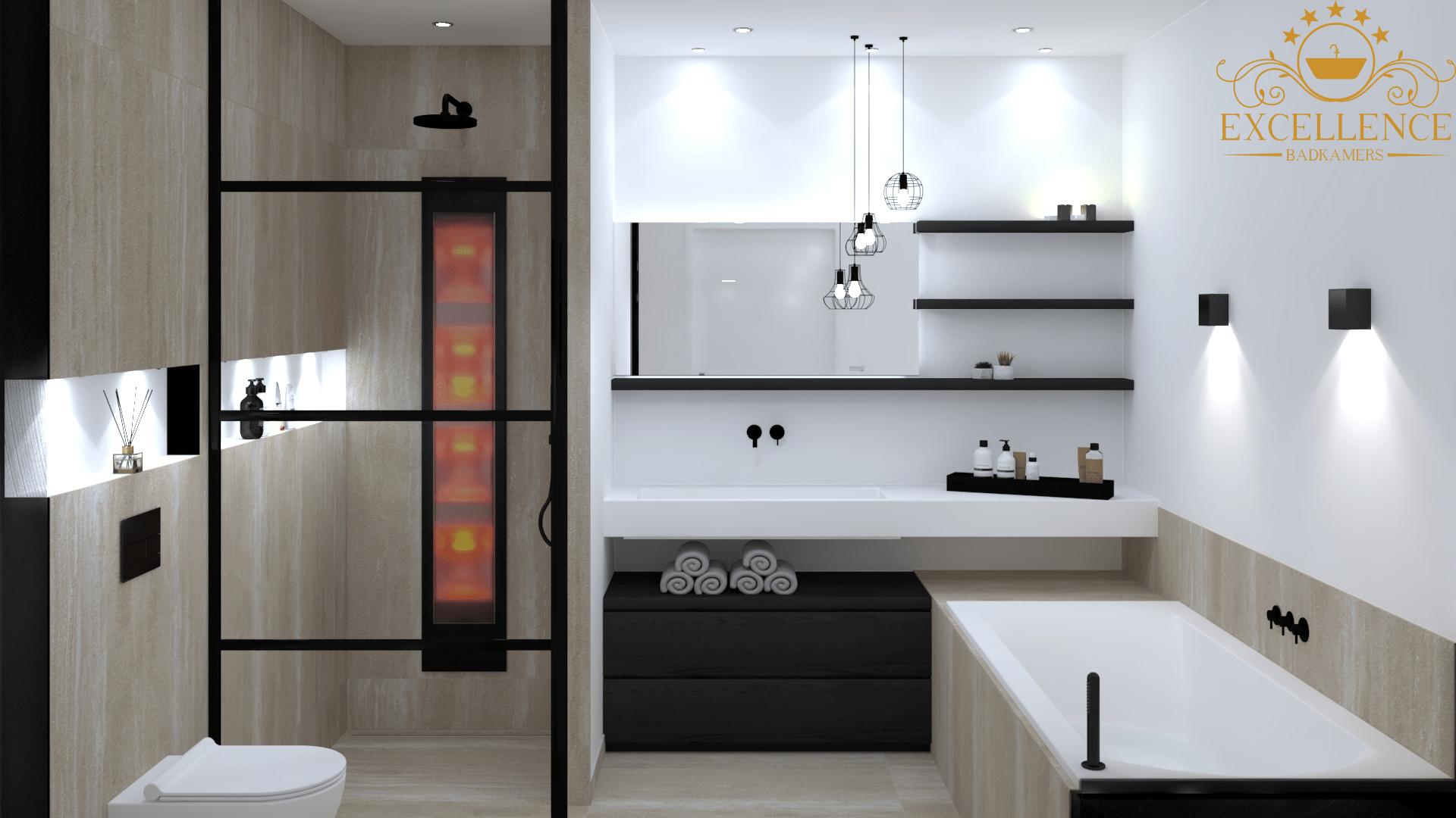 travertin badkamer